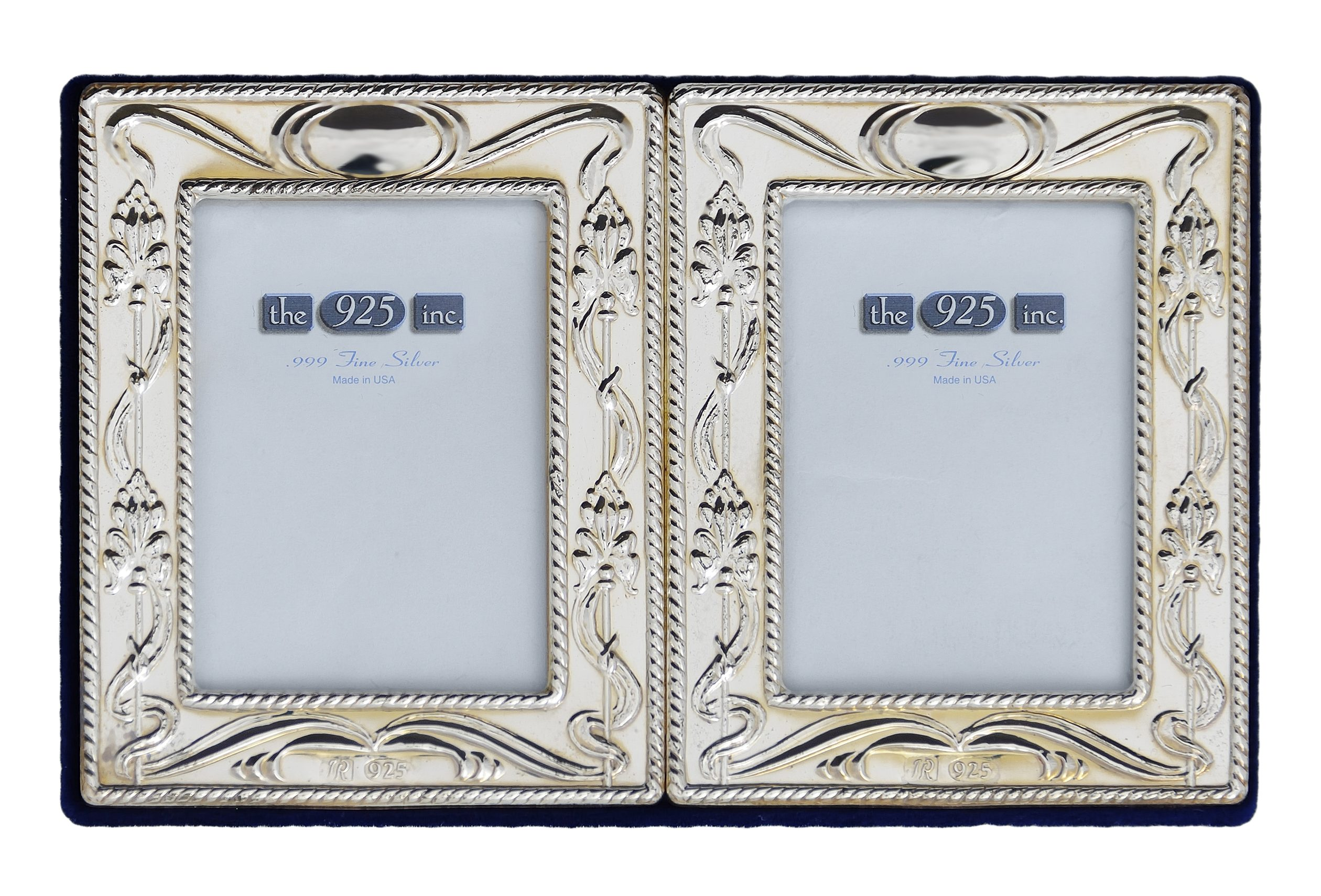 #108-D Charles Double Frame Image