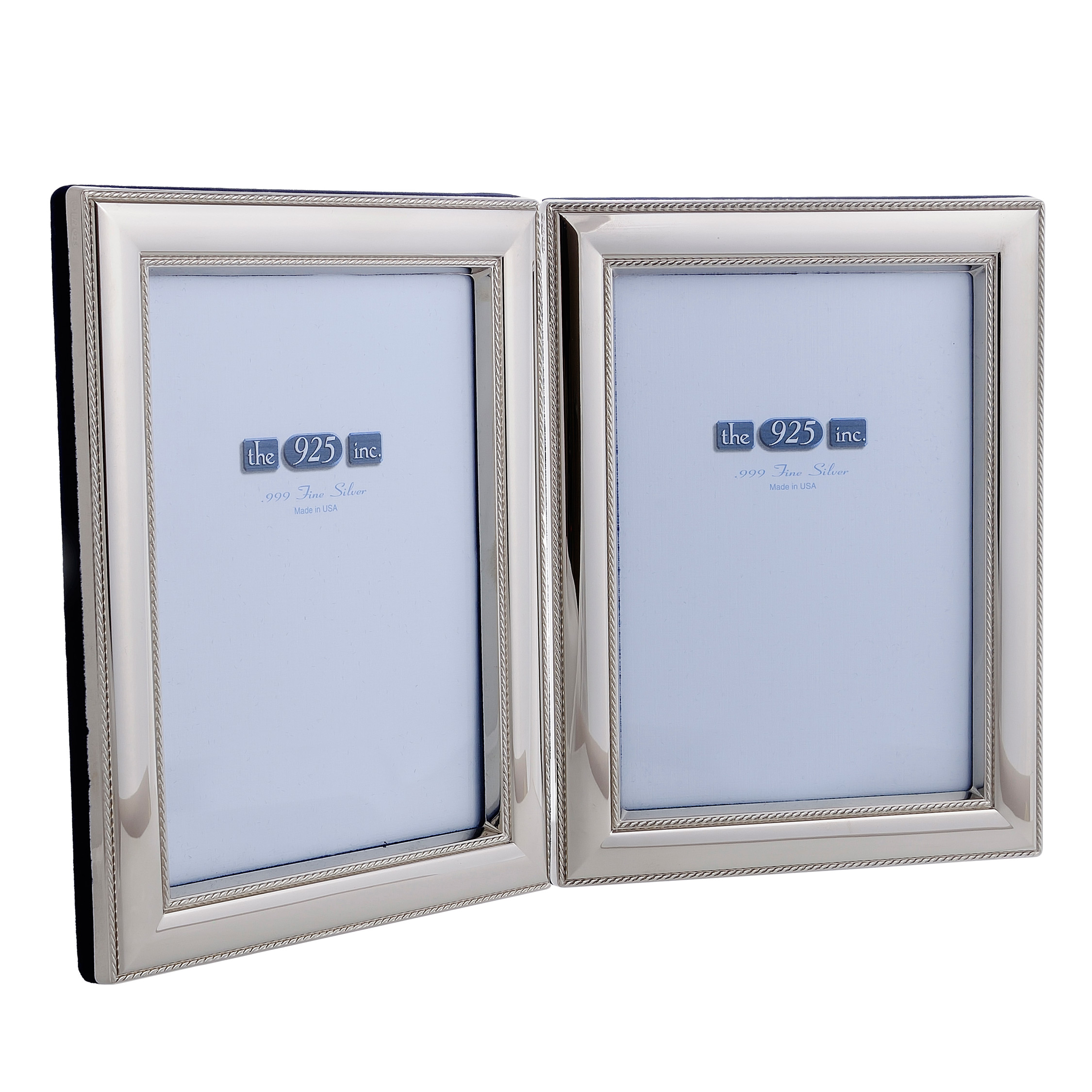 #111-8D Beaded Double Frame Image