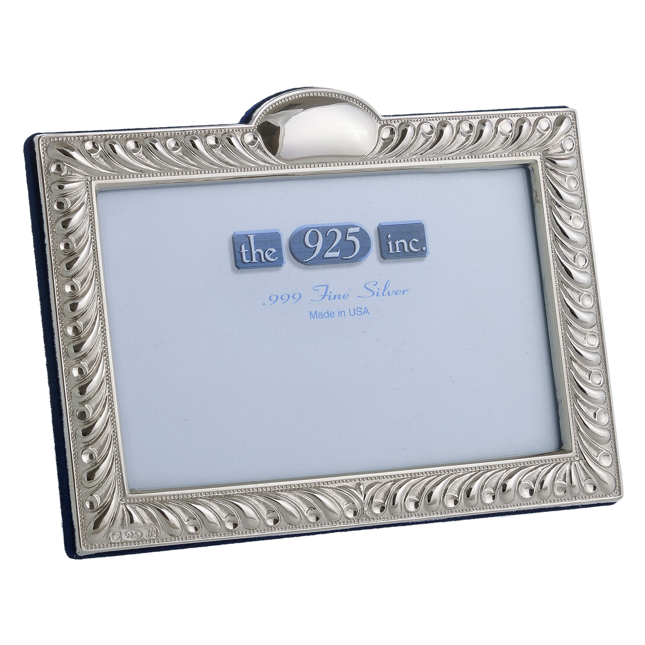 #216 Gadroon Silver Frame Image