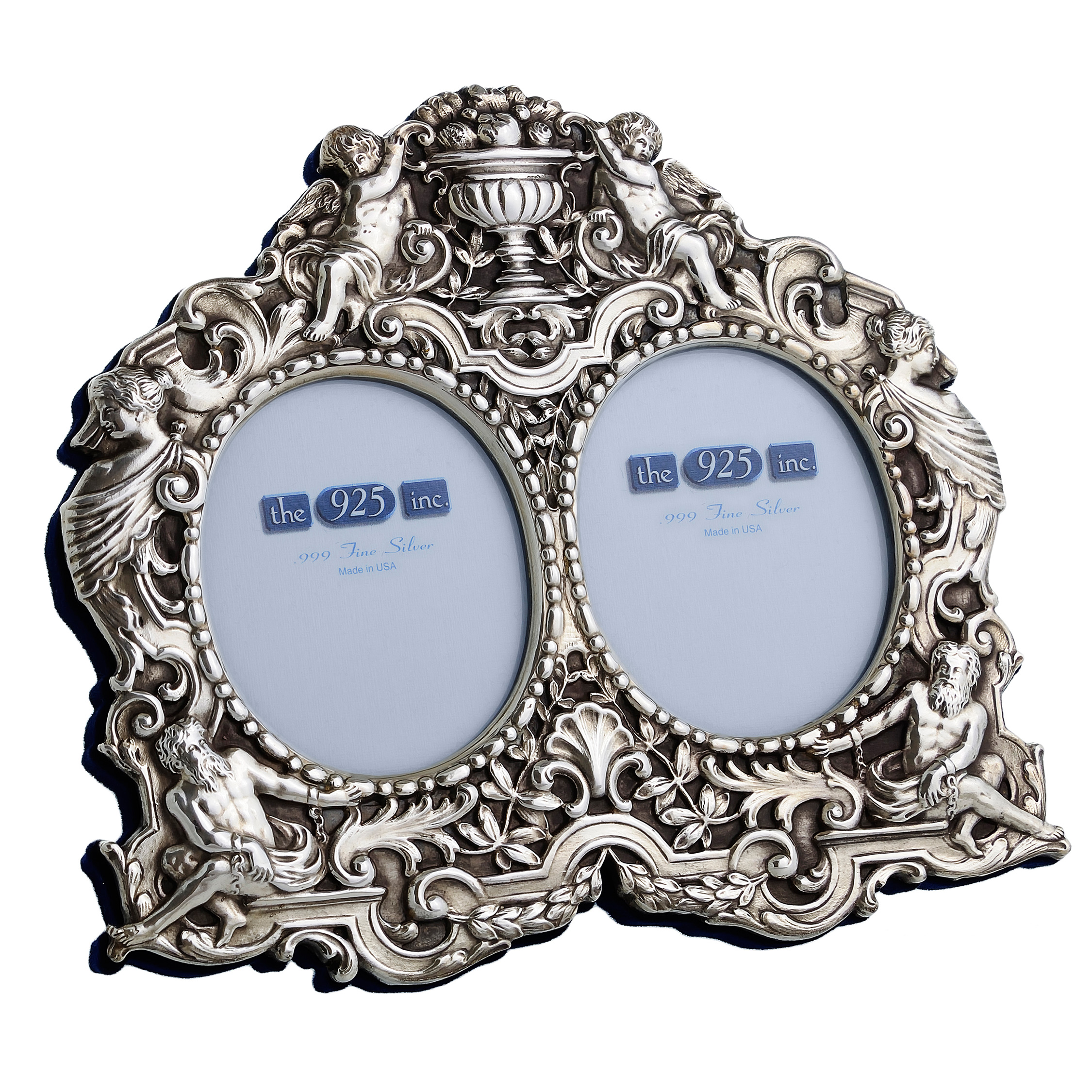 #225 Neoclassical Silver Frame Image