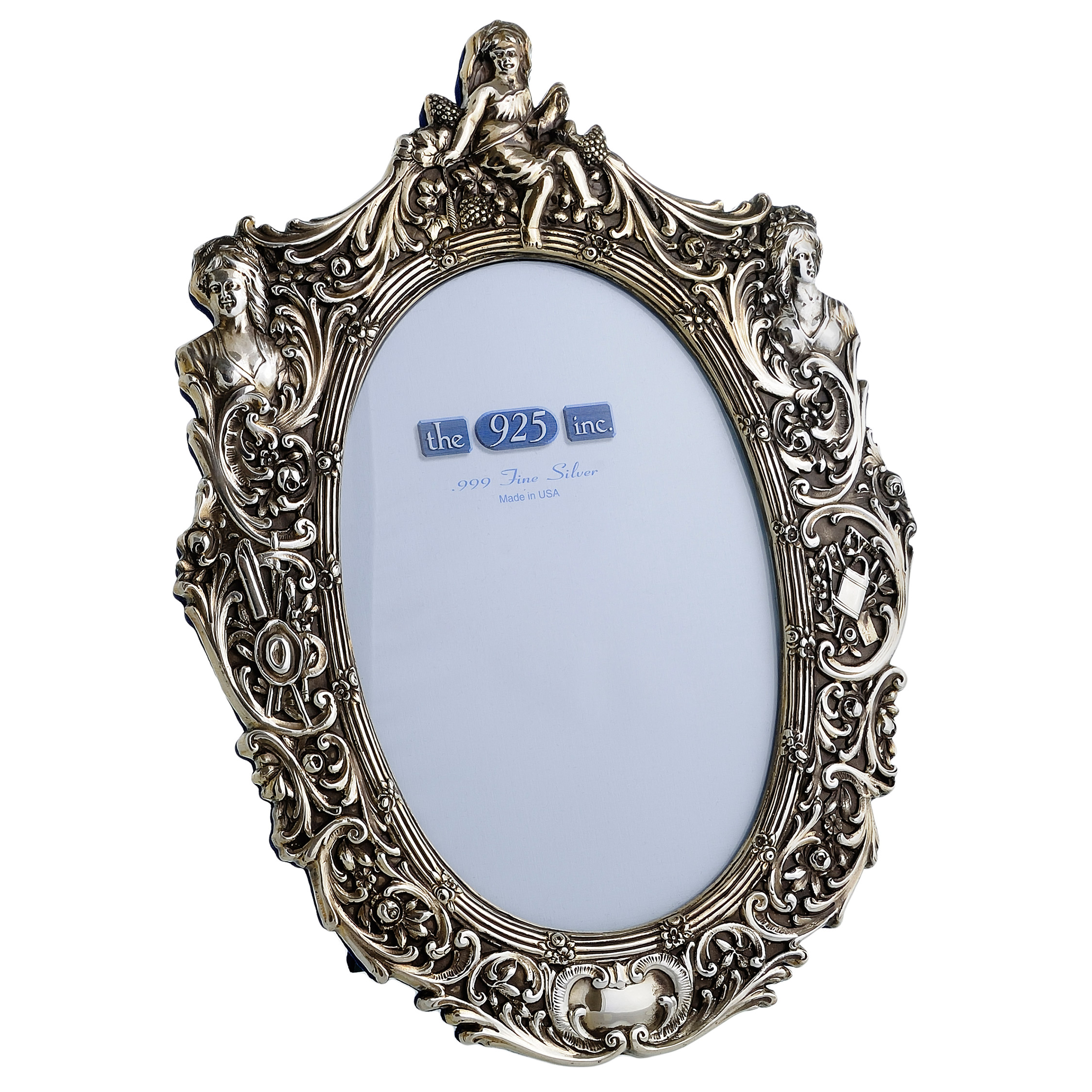 #227 Versailles Silver Frame Image