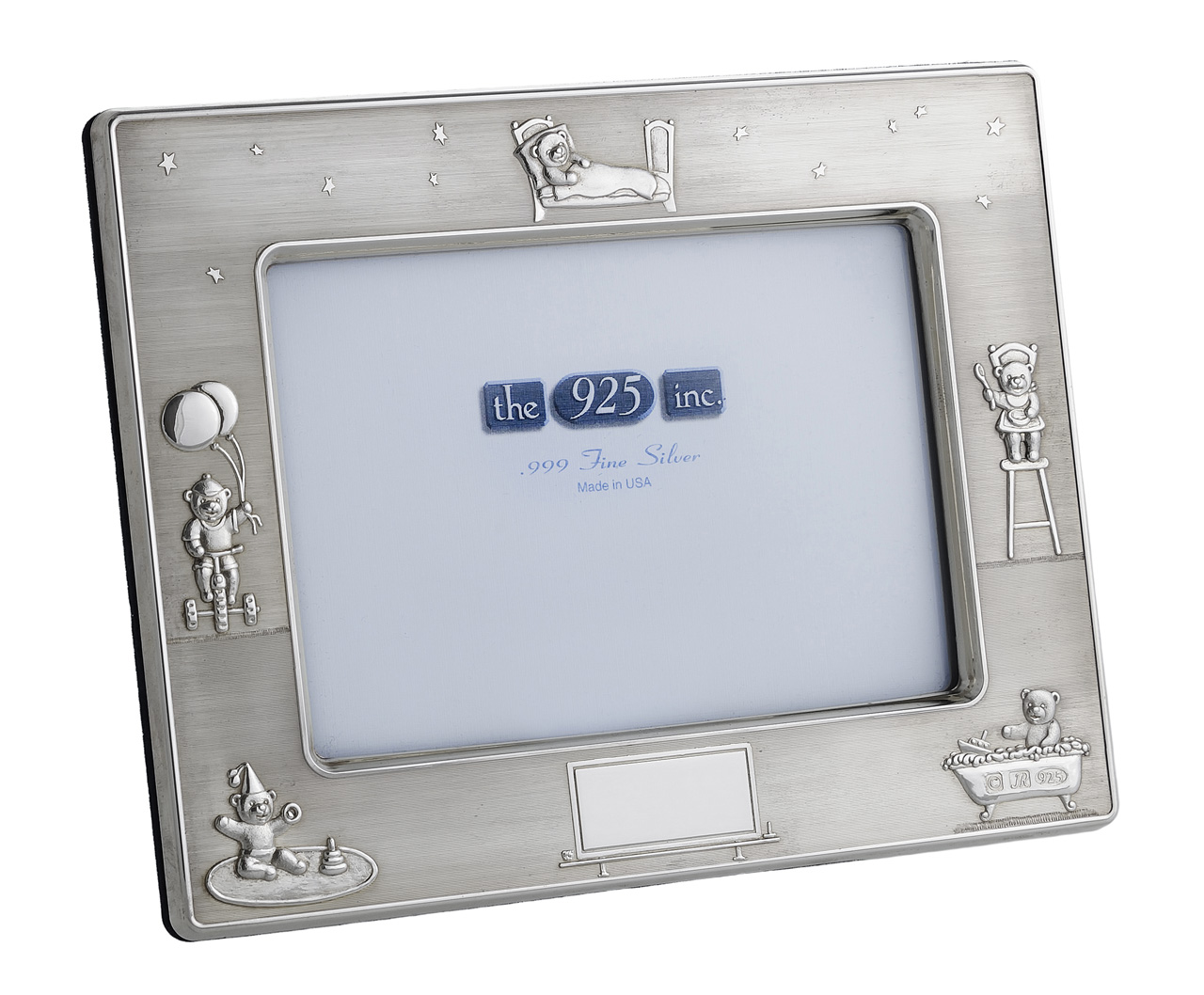 #162 Baby Silver Frame Image
